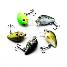 5pcs Crankbait 3cm 2g Fishing Bait Minnow 5 Color Bass Temptation Swing carp Set High Quality