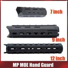 Elemento airsoft guarda de mão 7 polegada/9 polegada/12 polegada m4 m16 handguard airsoft accessori ex278