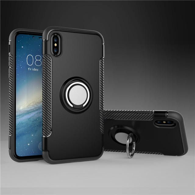 Finger Ring Case For Xiaomi Redmi S2 7 6 Pro 6A 6 5 4 4X 4A 3S Case For Redmi 6 Luxury Car Magnetic Bracket Cover