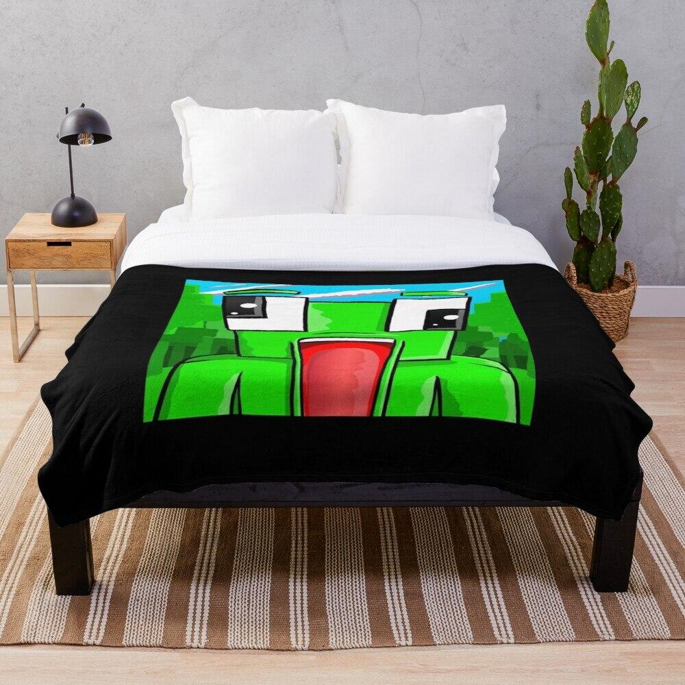 Unspeakable Logo Throw Blanket Soft Sherpa Blanket Bed Sheet Single Knee Blanket Office Nap Blanket