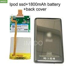 Novo ssd 128g 256g 512g para ipod classic 7gen 7th 160gb ipod vídeo 5th substituir mk3008gah mk8010gah mk1634gal ipod disco rígido hdd