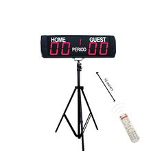 Hot-selling portable digital  soccer score board led game football scoreboard for sports