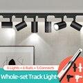 Led-strahler 220V Spot Licht Schiene 12W 20W 30W 40W Decke Flecken lampe Für Küche Home strahler Leuchte