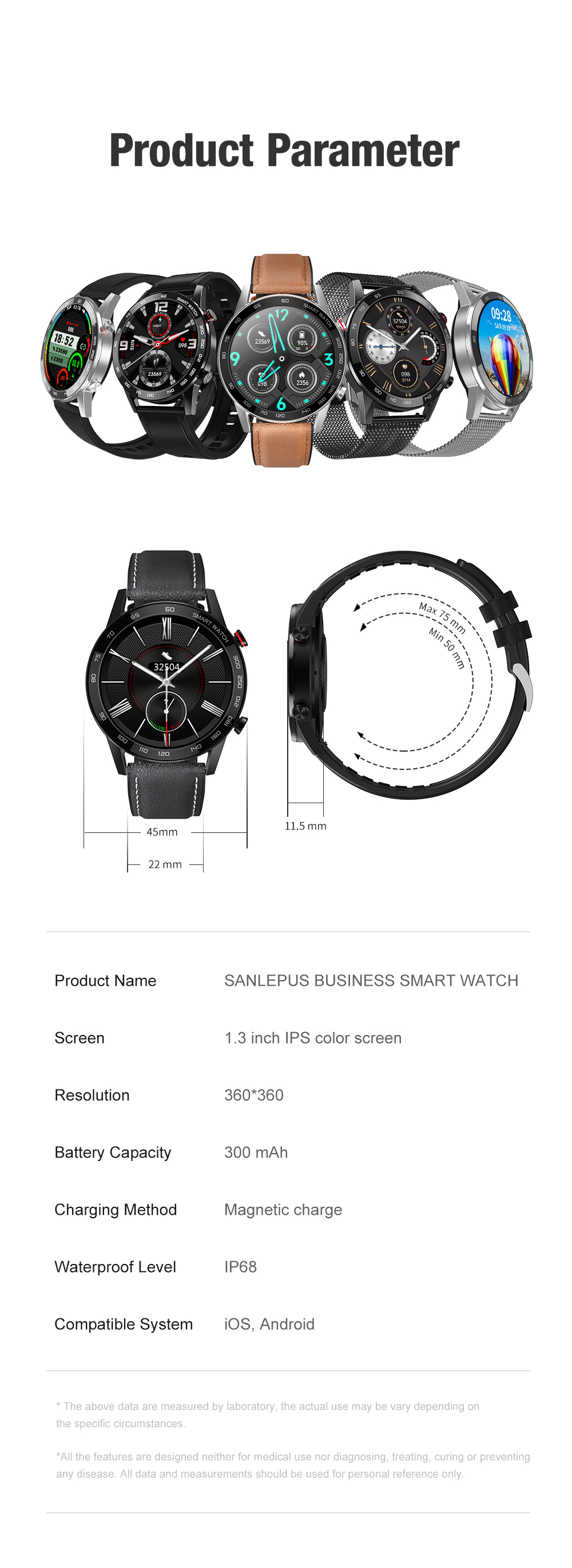 Hcc1e6dcb336f4f228c308e05e2d2270bt 2021 SANLEPUS ECG Smart Watch Dial Call Smartwatch Men Sport Fitness Bracelet Clock Watches For Android Apple Xiaomi