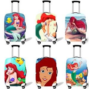 Эластичный Защитный чехол для чемодана, чехол для костюма, защитный чехол, чехол на колесиках, чехлы для путешествий, аксессуары для маленьк...