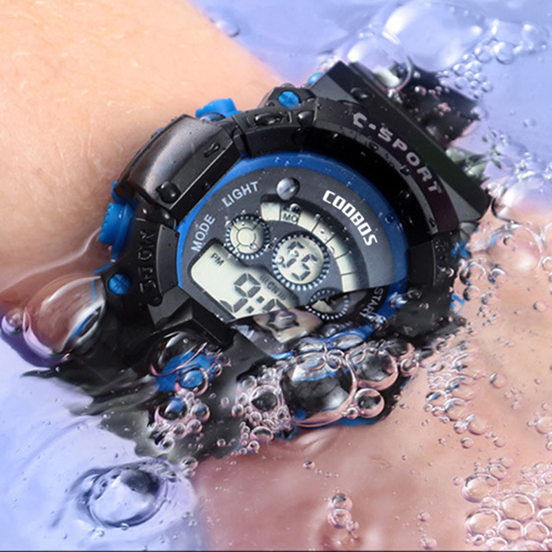 Luxury Brand Military Men's Watches 3 Bar Waterproof Sports Digital Wristwatch Male Complete Calendar Rubber Clock Zegarek Meski