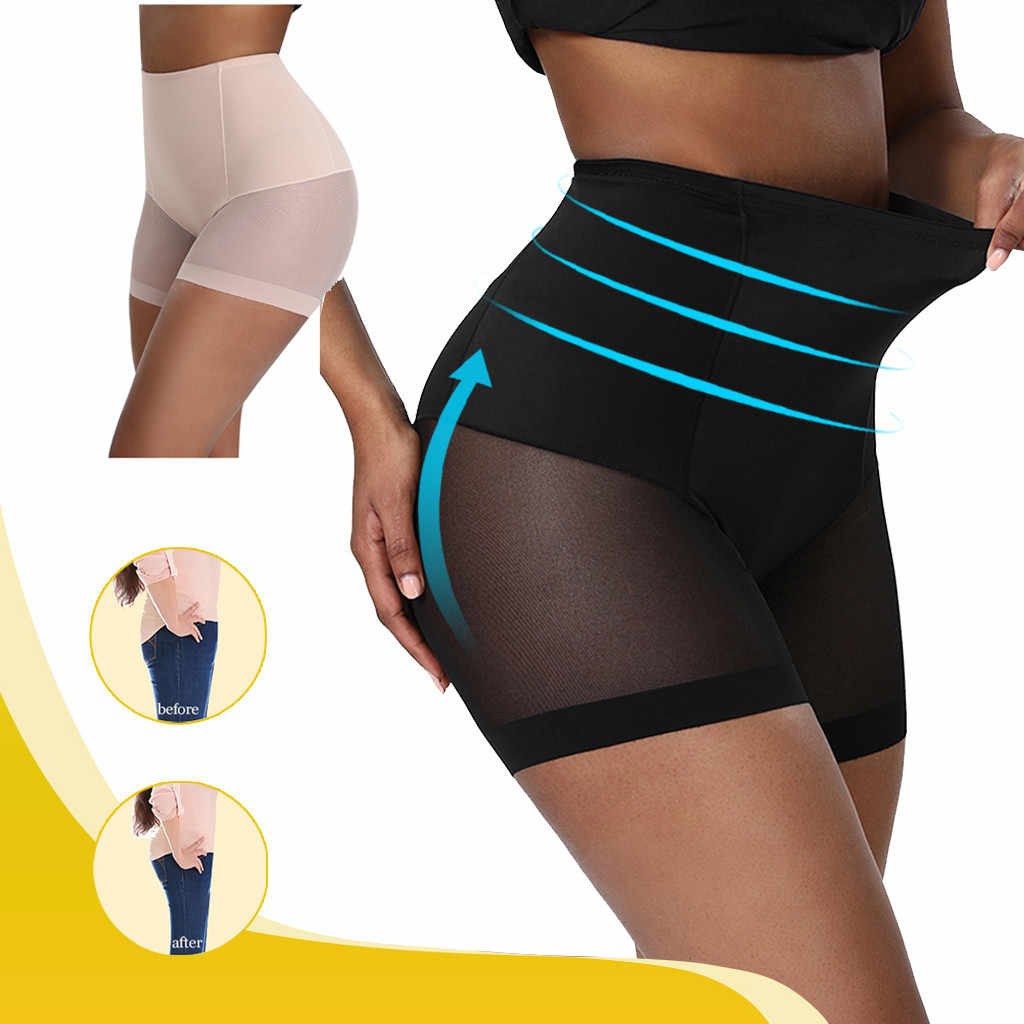 Women Underwear High Waist Shaping Body-Shaping Body Pants Underpants Corset Tummy Control Panties Thigh Slimmer DRopshipp #2930