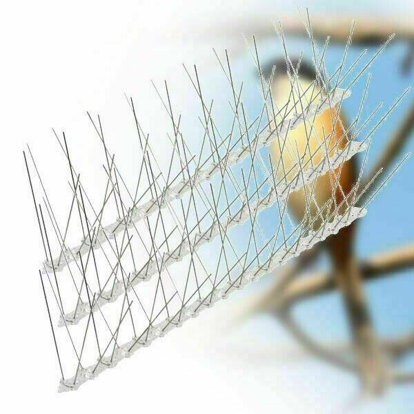 Фирменная Новинка 25 см с металлическими заклепками; Туфли-лодочки стены забор шипы птица голубь сдерживающим фактором анти окунь Управлени...