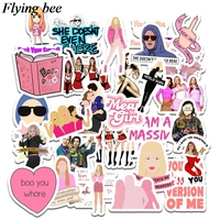 sticker motorcycle Flyingbee 35 pcs Mean Girls Movie Sticker Sexy women Stickers for DIY Luggage Laptop Skateboard Car Motorcycle Stickers X0738 (2)