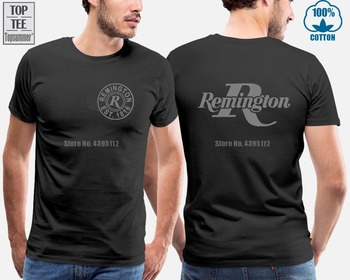 Summer Short Sleeves Fashiont Short-Sleeved Print Letters Remington T Shirt Comfortable Male T-Shirt dark blue feather pattern cold shoulder short sleeves t shirt