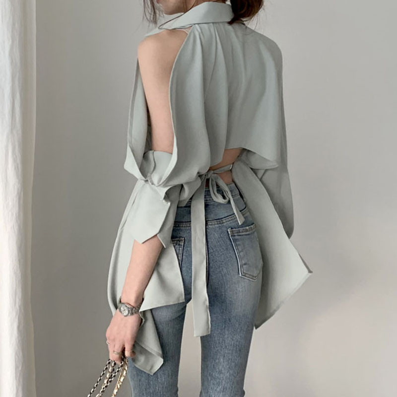 Women Blouse Tops New Lady Hollow Out Fashion Shirts Off Shoulder Spring Summer Clothes Vogue Shirt