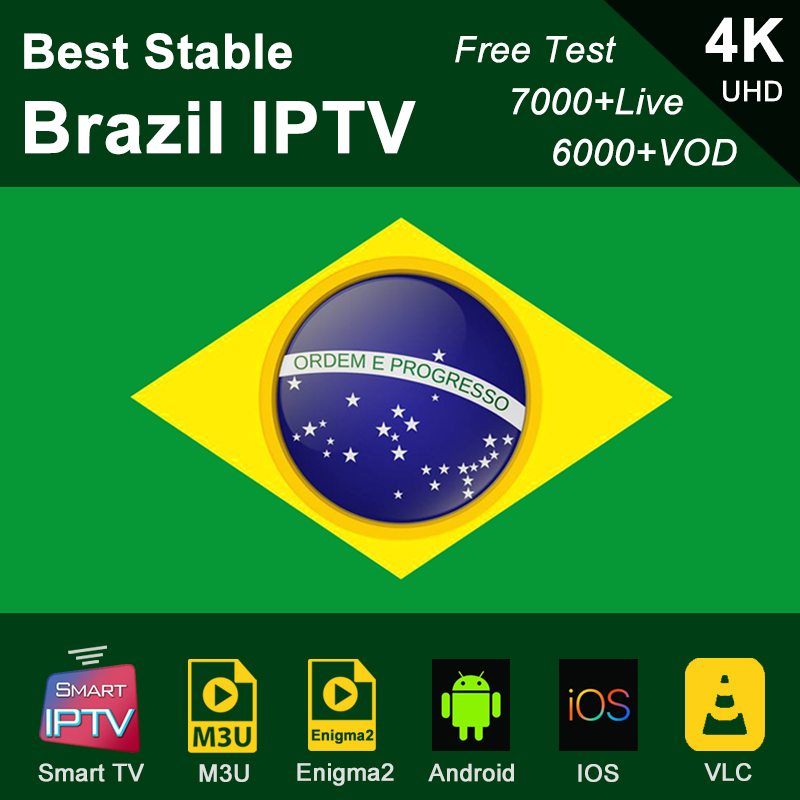 Brazil IPTV Subscription M3u Abonnement IPTV Arab USA Canada Spain France Germany Portugal Italy Android Smart TV Box Enigma2 PC