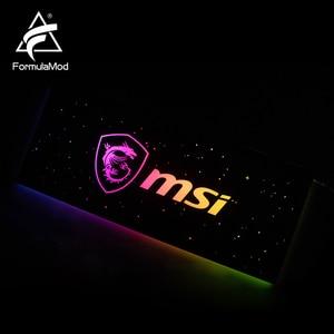 Image 4 - FormulaMod Fm DB, Gpu Decorative Backplate, With 5v 3pin Lighting LED Acrylic Backplane, Can Sync To Motherboard