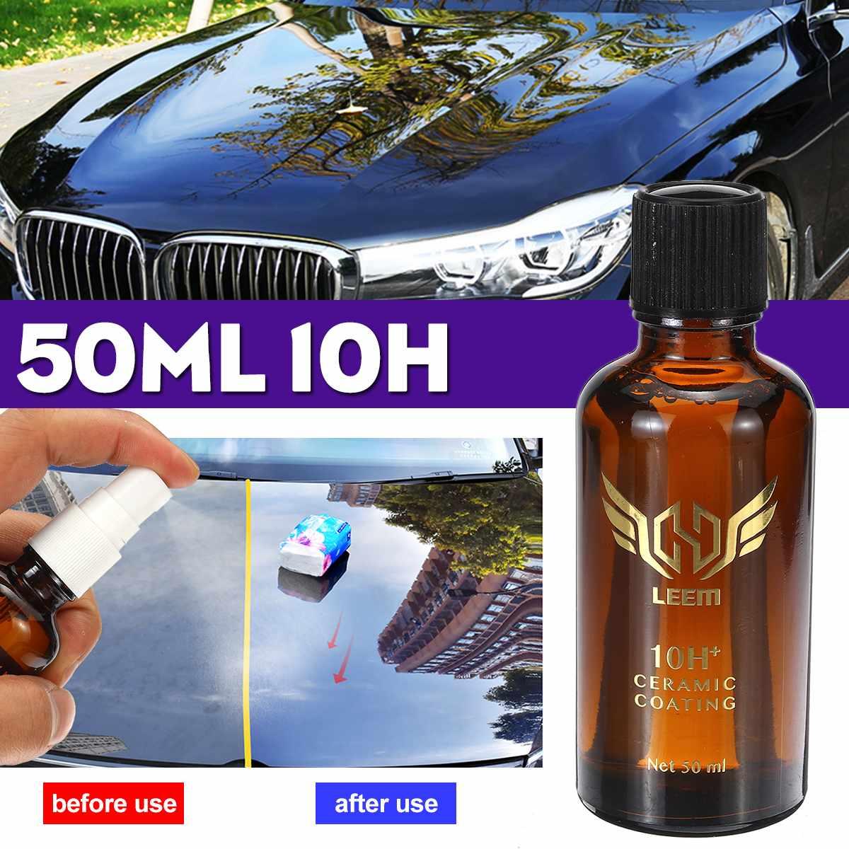 10H Motorcycles Paint Polish Automotive Coating Waterproof NanoCeramic Paint Care Solution Scratch Resistant Super Hydrophobic