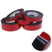 Double Sided Tape Foam Tape Super Strong Double Faced Adhesive Self Adhesive Pad For Mounting Fixing Pad Sticky 1MM Thickness(China)