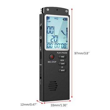 96 Hours Dictaphone Digital Audio Voice Recorder  6