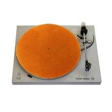 Войлок turntable блюдо коврики lp скольжения Мат audiophile