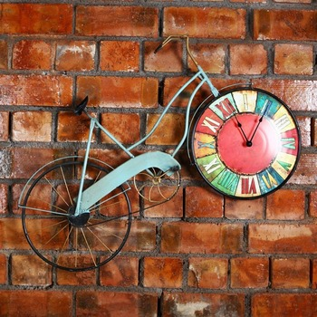 American Loft Industrial Wind Iron Bicycle Retro Home Decoration Wall Pendant Creative Wall Hanging