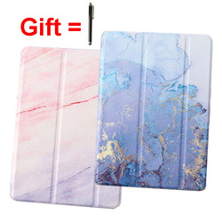 Marble Print Magnet Smart Case for iPad Air 1 2 9.7 2017 2018 Tablet Cover A1474 A1475 A1476 A1566 A1567 A1822 A1823 A1893 A1954
