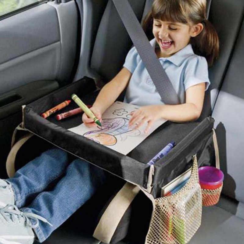Детское автомобильное сиденье, поднос для коляски, детская игрушка для еды, держатель для воды, стол для детей, портативный стол для автомобиля, новый детский стол для хранения, для путешествий, игры
