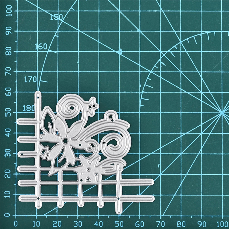 GJCrafts Flower Frame Metal Cutting Mold New 2019 Exquisite Gift Craft Mold Scrapbook Album Relief Mold Die Cutting Decoration