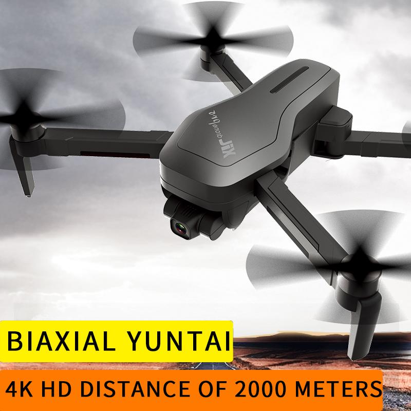 Drone 4K Drone GPS with 2-axis gimbal Brushless Motor 2000 meters remote control GPS drone Remote control aircraft KAJ 193 Pro