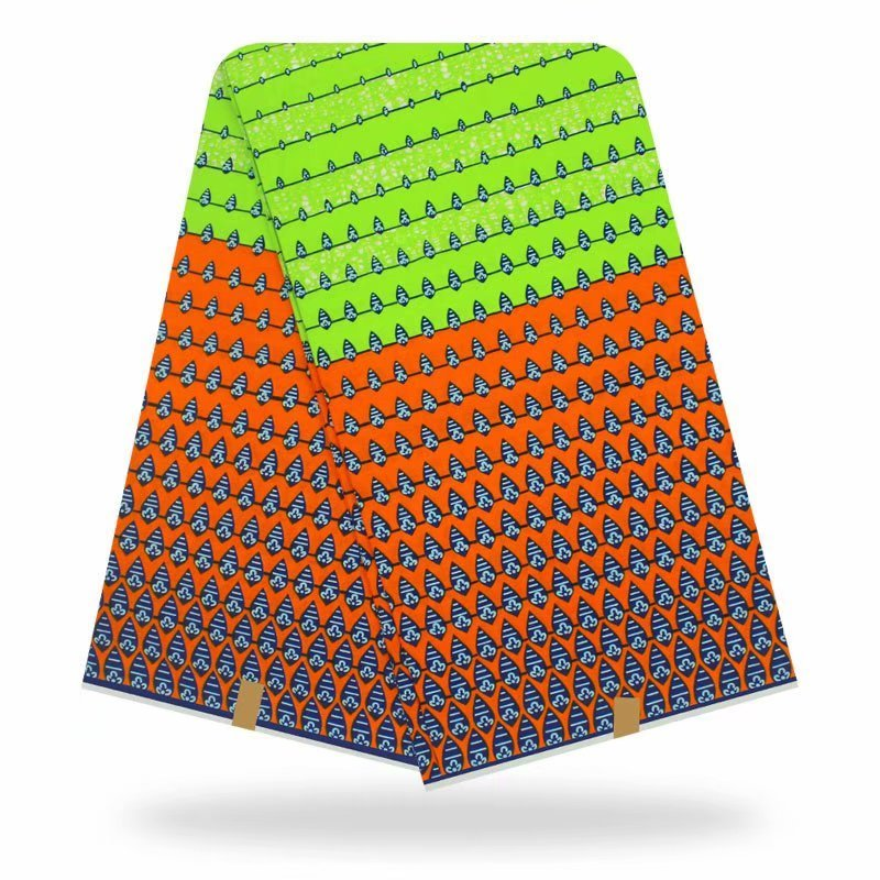 2020 New Style Wax Ankara Fabrics Nigerian Wax Print Fabric High Quality African Ankara Fabrics For African Dress