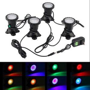 1pc-5cs 36 LEDs Color Landscaping Spotlights Water Grass Fill Light pool lighting light for Aquarium Fish Tank Pool Water Garden(China)