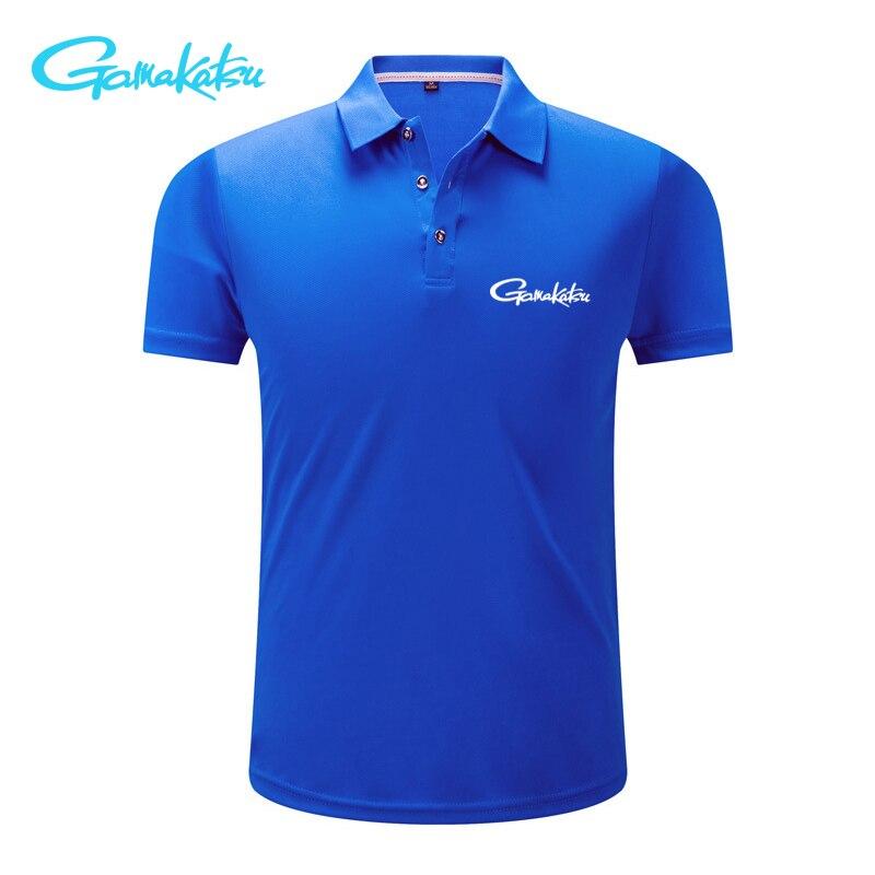 2019 été T-shirt hommes séchage rapide pêche T-shirt Sport usure glace soie respirant en plein air course Golf pêche Polo T-shirt