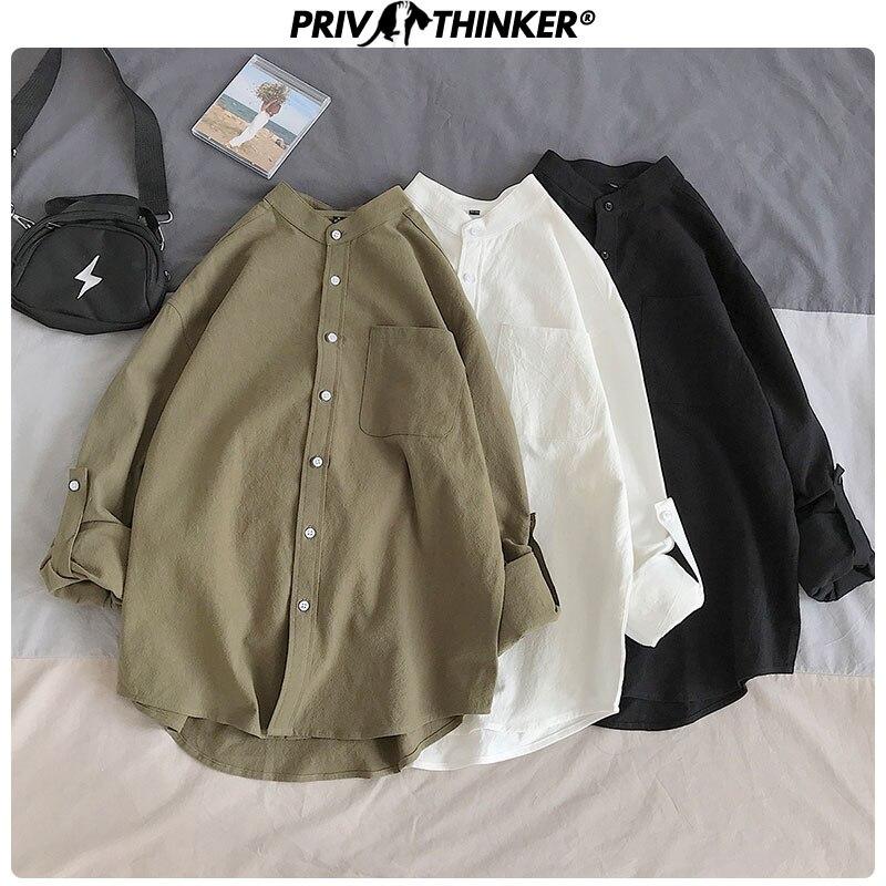 Privathinker Autumn Casual Oversize Women's Shirts Long Sleeve Plaid Female Blouses Shirt Lady Office Harajuku Tops 2020 Clothes