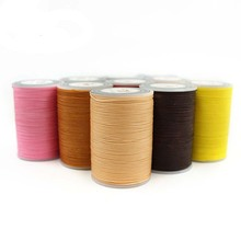 1PC 78 Meter 0.8mm Waxed Thread  DIY Handicraft Tool Hand Stitching Flat Sewing Line