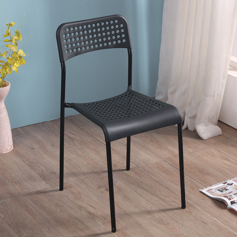 Household Plastic Chair Dining Chair Adult Thickening Leisure Chair Office Chair Modern Simple Lazy Computer Chair