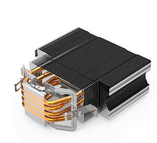Aigo E3 PC CPU Lüfter Kühler 4 Heatpipes CPU Kühler Lüfter Kühler Aluminium Kühlkörper CPU Kühler LGA775/1155 /1156/1366/AM2/AM4