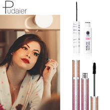 Fiber 4D Big Eye Thick Mascara waterproof Anti-sweat Curling Quick-drying Does Not Smudge Brush Head Combination Set