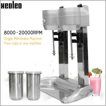 Xeoleo Milk shake machine Double cups Milk shaking machine Milkshaker 20000rpm Milk shake stirring Beverage Mixer - DISCOUNT ITEM  25% OFF All Category