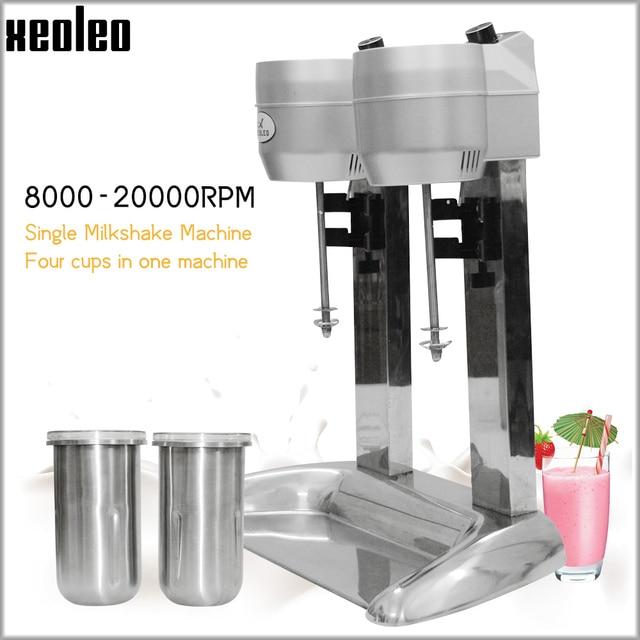 "Xeoleo מילקשייק מכונה כפול כוסות חלב רועד מכונה Milkshaker 20000 סל""ד מילקשייק ערבוב משקאות מיקסר"