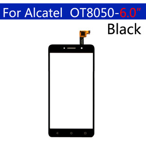 Image 2 - 10Pcs\lot Touchscreen For Alcatel One Touch Pixi 4 OT 8050D 8050  OT8050 Touch Screen Panel Sensor Digitizer Glass Replacement