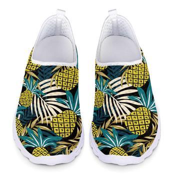 Zapatillas ligeras para correr para mujer, zapatillas de deporte de malla con...