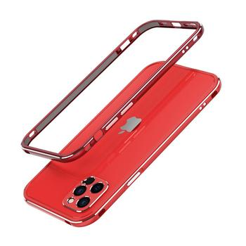 For iPhone 12 /12 Pro/12 Pro Max Mini /11 Pro Max 11 Aluminum metal bumper Frame Slim Cover phone case+ carmera Protector 9