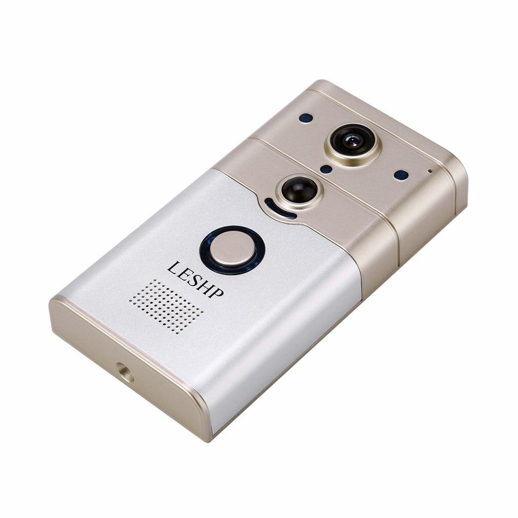 Smart IP vidéo interphone WI FI vidéo porte téléphone porte cloche WIFI sonnette caméra pour appartements IR alarme sans fil caméra de sécurité - 5