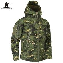 Mege 브랜드 의류 가을 남성 군사 위장 양털 재킷 육군 전술 의류 Multicam 남성 위장 윈드 브레이커
