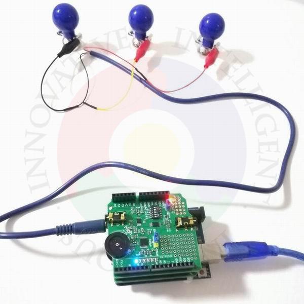EMG Myoelectric Sensor, Compatible With MyoWare / SparkFun, Software Open Source EMG