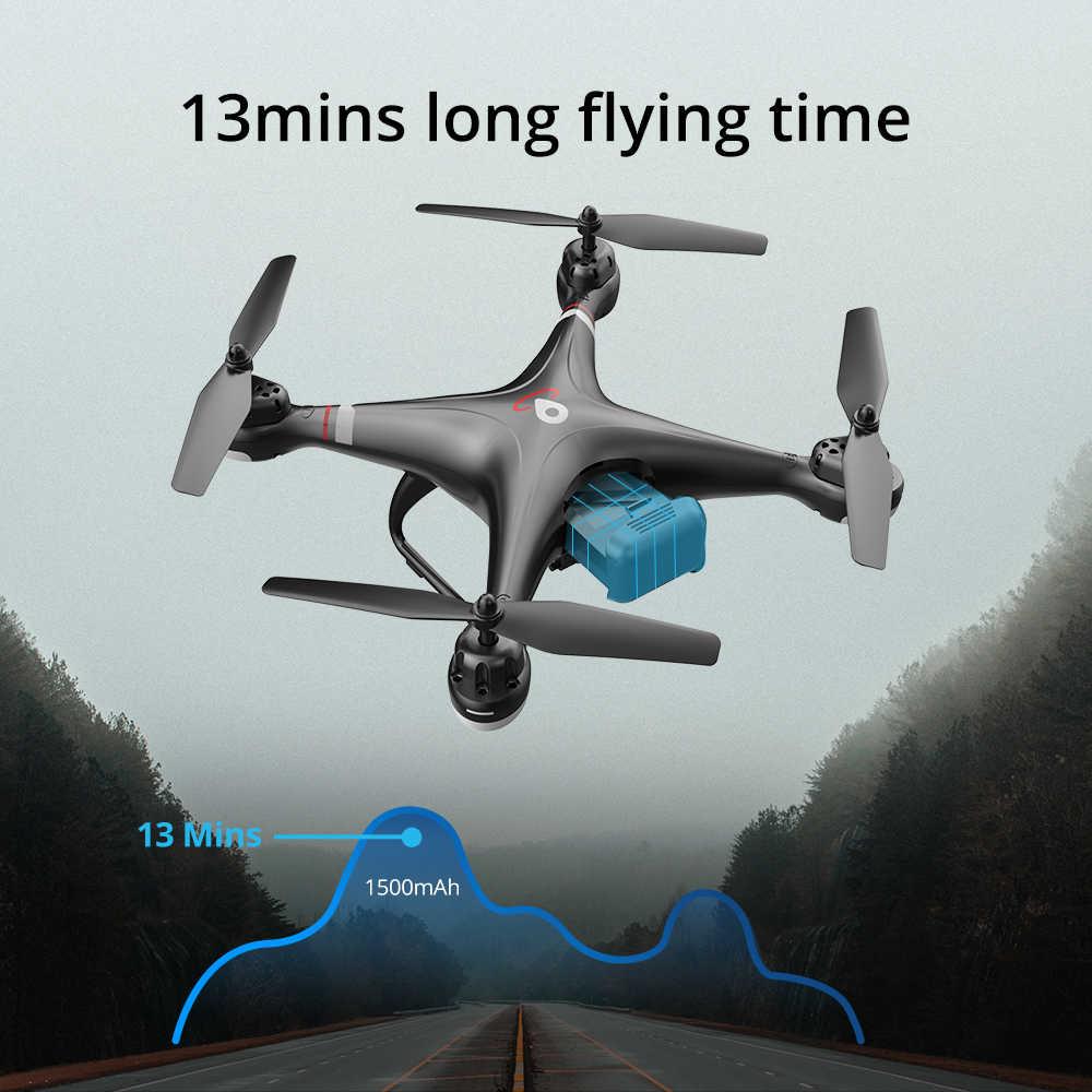 Pierre sainte HS110G GPS Drone WIFI FPV 1080P HD caméra RC Drone GPS suivez-moi professionnel vidéo en direct Auto vol stationnaire RC quadrirotor