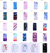 LISCN Marble Case on For iphone 7 XS MAX Soft TPU Back Cover 6 6S 8 Plus X XR Phone