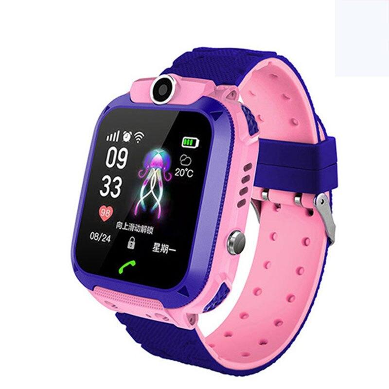 Kid Smart Watch Waterproof Smart Wristwatch Anti-lost Touch Screen Smartwatch Bracelet For Gifts