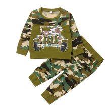 Одежда для маленьких мальчиков от 0 до 24 месяцев осенний костюм