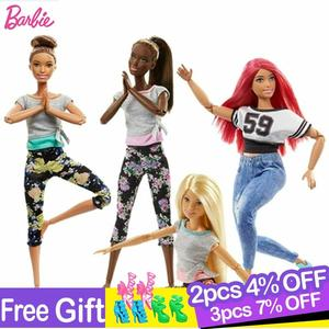 Image 1 - Original Barbie 18 Inch Fshion American Dolls with Accessories for Baby Girl Toys for Children Birthday Gift Bonecas Juguetes