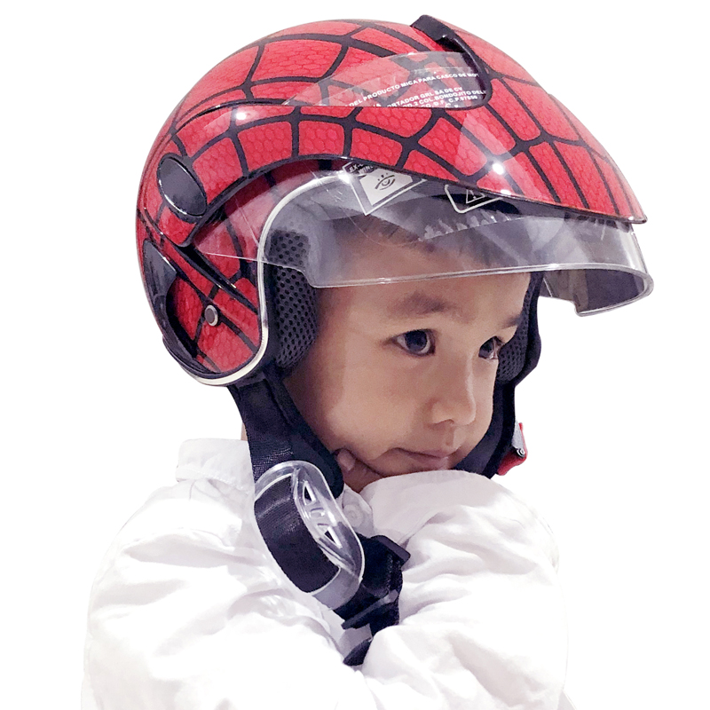 New Children's Riding Helmets Boys girls Motorcycle Cycling Kid Helmet For Outdoor Sports Four Seasons 48-52cm