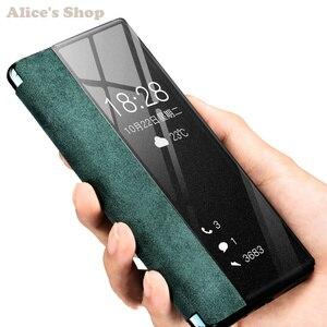 Image 3 - Cao cấp Chính Hãng Bền Da Chính Hãng Huawei P30/ Pro Thời Trang Hiển Thị View Thông Minh Dùng Cho Huawei p30 Pro