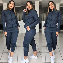 2 piece outfits for women gothic 2019 festival clothing casual pockets tracksuit girls matching sets sexy two new